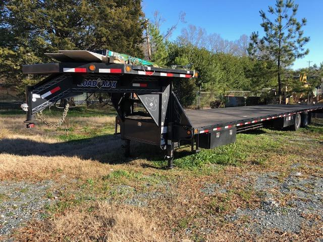 "2017 Load Max 102"" x 40' Gooseneck Flatbed Trailer in Ashburn, VA"