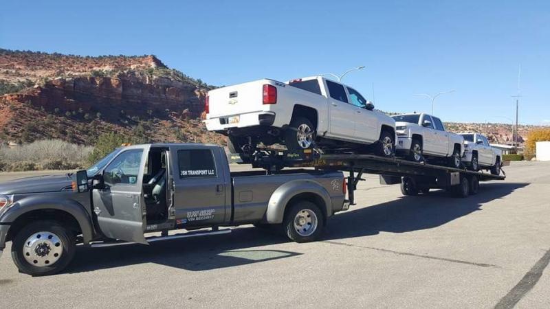 "2015 Big Tex Trailers 102"" x 53' Three Car / Truck Wedge"