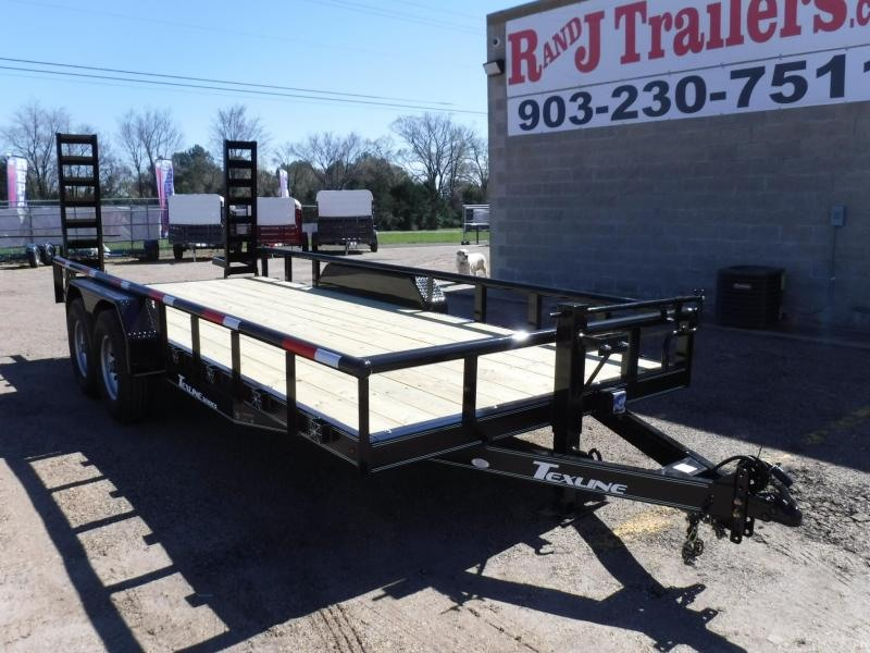 2018 TexLine 83 x 18 Bobcat Pipe Top Equipment Trailer in Dierks, AR