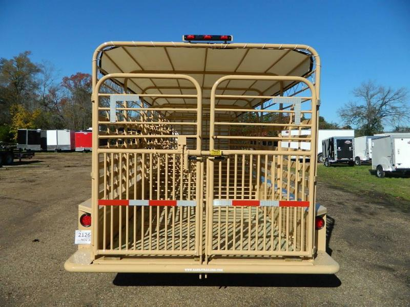 2018 TexLine 24 Cattle Utility Trailer