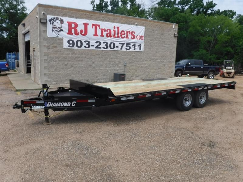 2019 Diamond C Trailers 102 x 20 DEC207 Equipment Trailer in Willisville, AR