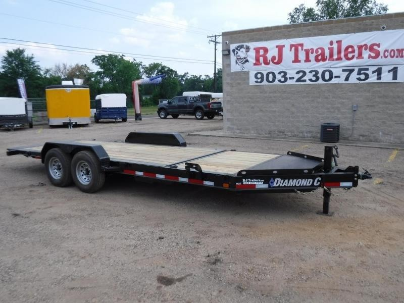 2018 Diamond C Trailers 82 x 20 HDT207 Equipment Trailer in De Queen, AR