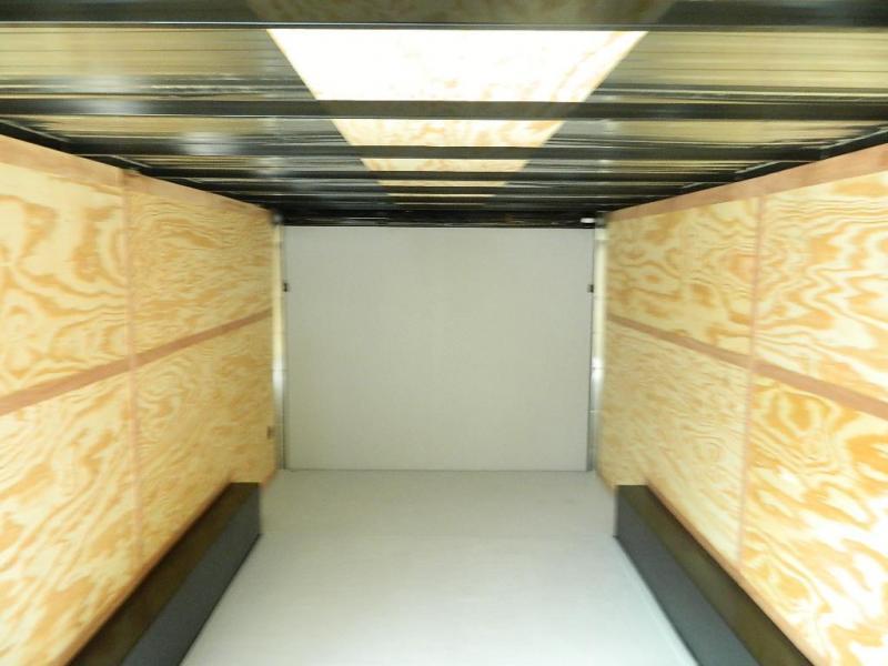 2018 Cargo Craft 8.5 x 16 Elite-V Enclosed Cargo Trailer