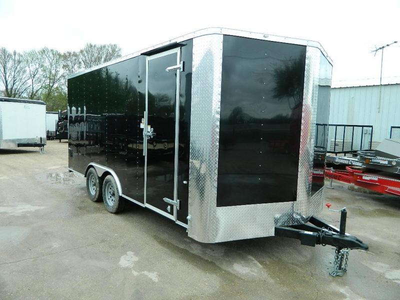 2018 Cargo Craft 8.5 x 16 Elite-V Enclosed Cargo Trailer
