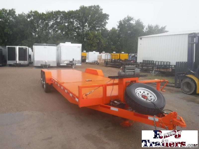 2018 Texas Pride Trailers 82 x 24 Tilt Equipment Trailer