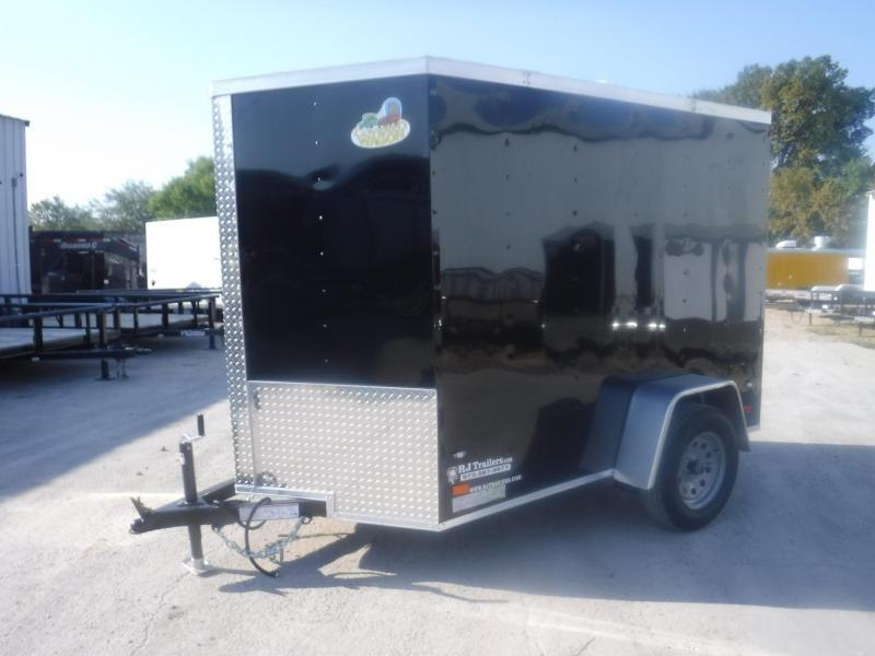 2019 Covered Wagon 5 X 8 Gold Series Enclosed Cargo Trailer
