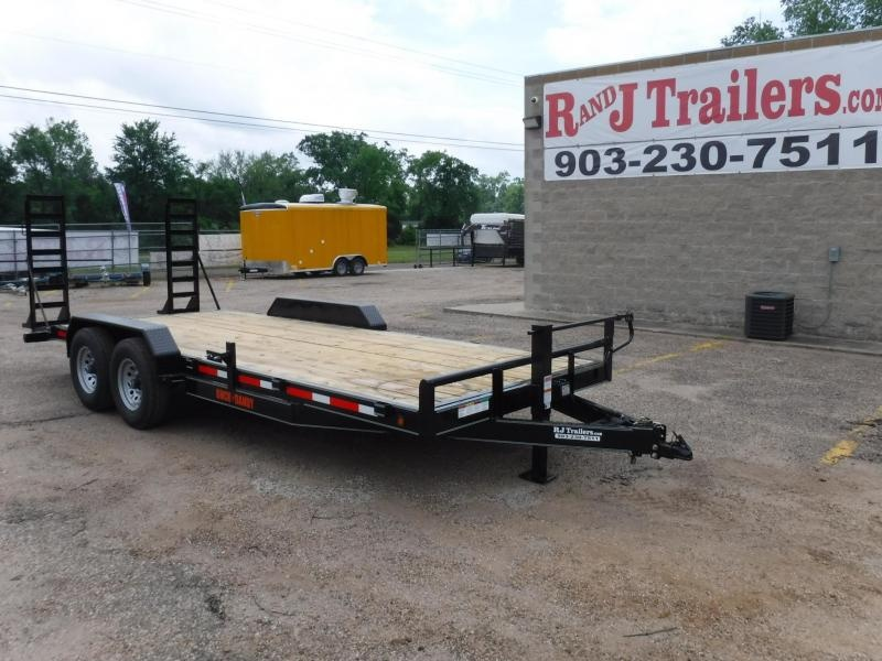 2019 Buck Dandy 82 x 20 Bobcat Equipment Trailer in Dierks, AR