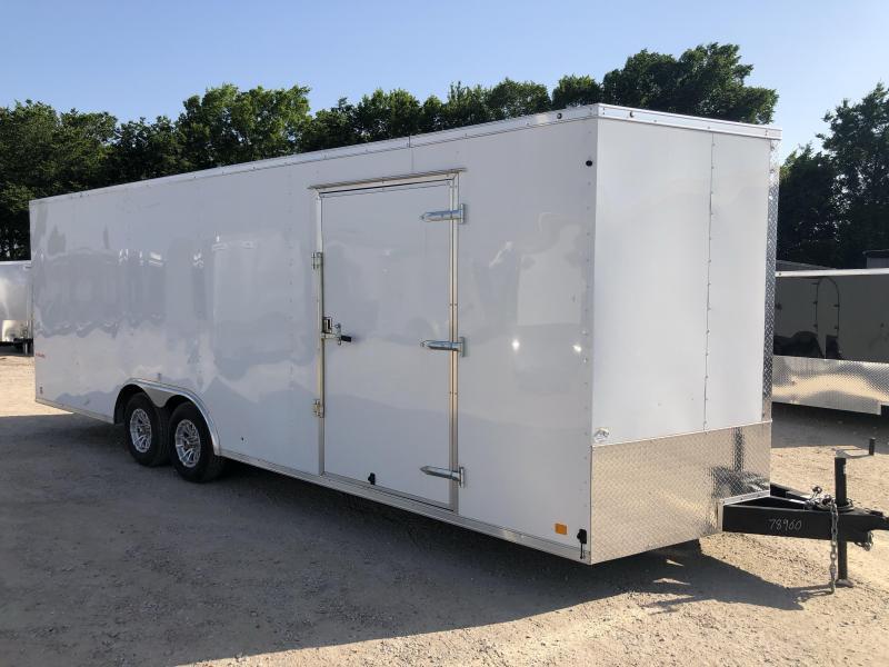 USED 2019 Cargo Mate 8.5 x 24 E-Series Enclosed Cargo Trailer