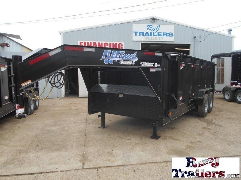 2018 Diamond C Trailers 82 x 16 21WD GN  Dump Trailer