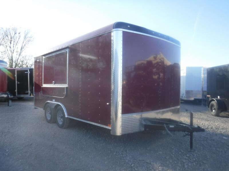 2019 Cargo Craft 8.5 x 16 Expedition Vending / Concession Trailer