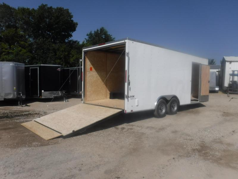 2019 Look Trailers 8.5 X 20 TA Element Enclosed Cargo Trailer