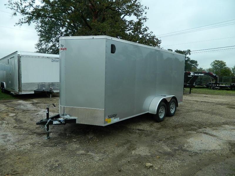 2019 Cargo Mate 7 x 16 E-Series TA Enclosed Cargo Trailer