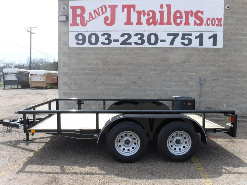 2019 Buck Dandy 77 x 12 Utility Trailer