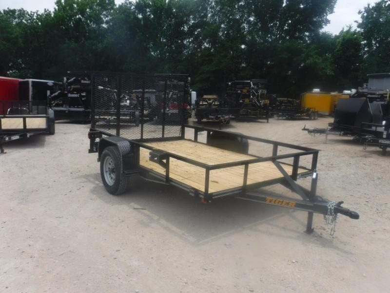 2019 Tiger 77 x 12 Econo Series Utility Trailer in  Witts Springs, AR