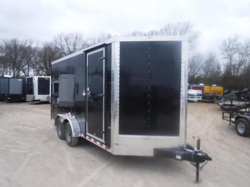 2019 Cargo Craft 7 x 16 Vector V-Nose Enclosed Cargo Trailer