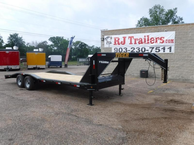 2019 Tiger 102 x 24 Gooseneck Equipment Trailer in De Queen, AR
