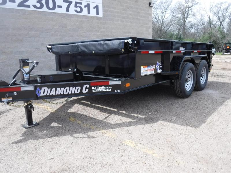2019 Diamond C Trailers 82 x 12 LPD207 Dump Trailer