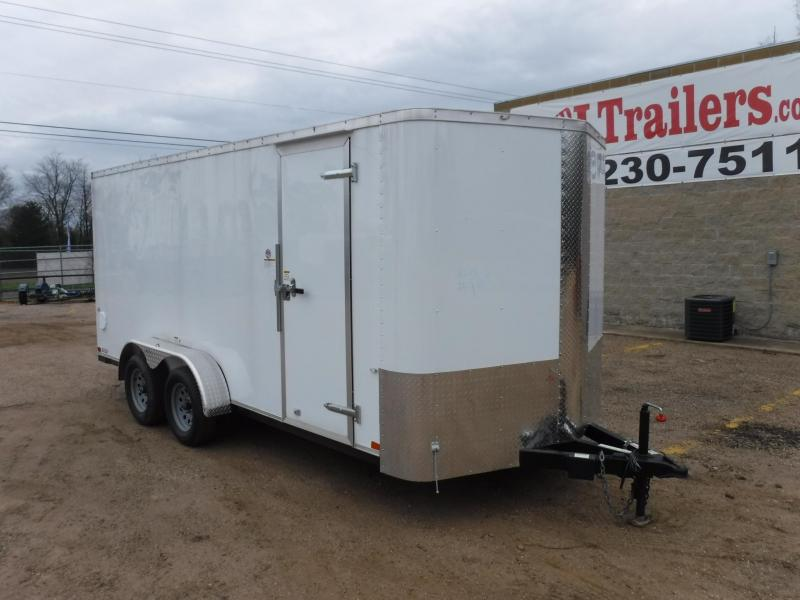 2019 Cargo Craft 7 x 16 Elite-V TA Enclosed Cargo Trailer