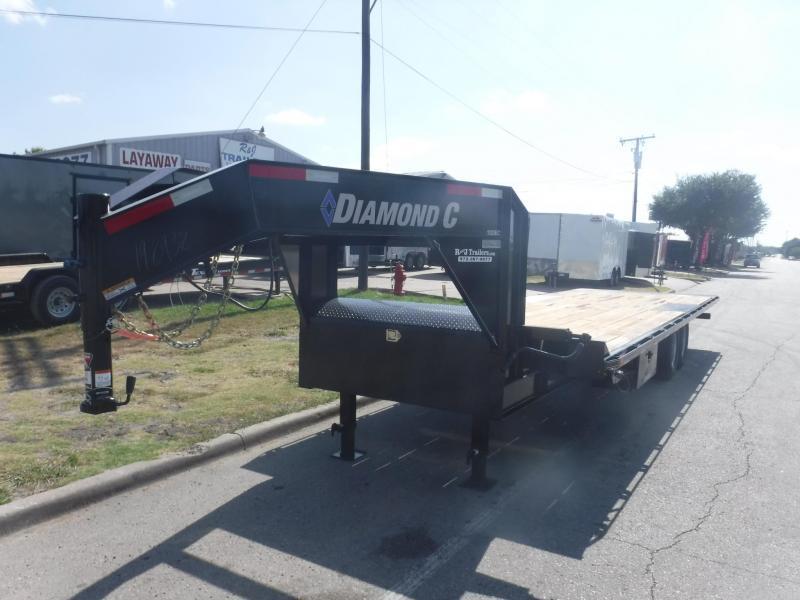 2018 Diamond C Trailers 102 x 26 13 DEC Full Tilt Equipment Trailer