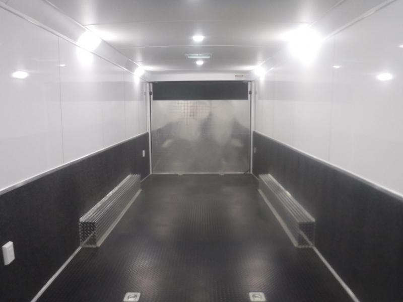 2019 Haulmark 8.5x28 Edge Heat Car / Racing Trailer
