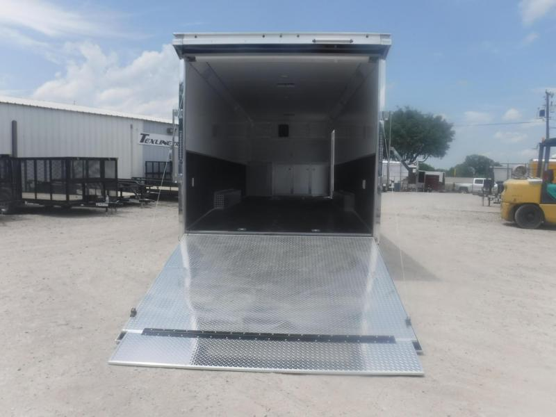 2019 Haulmark 8.5x28 Edge Heat Car / Racing Trailer