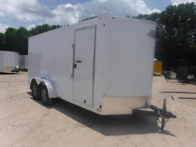 2019 Cargo Mate 7 x 16 LEE TA Enclosed Cargo Trailer