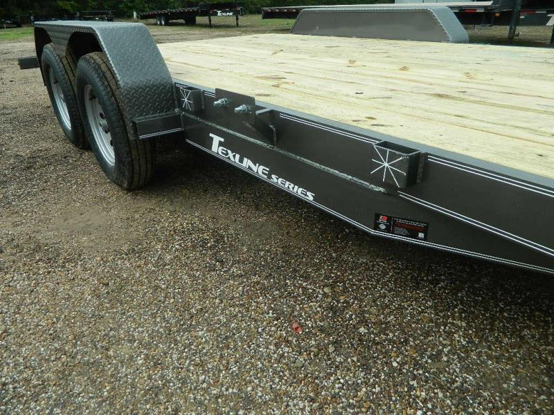 2018 TexLine 83 x 18 Deluxe Car / Racing Trailer