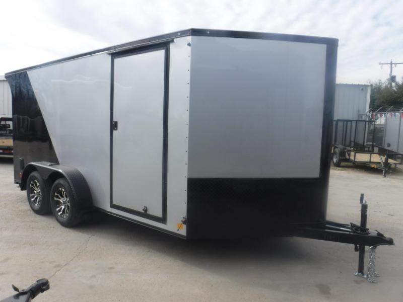 2019 Cargo Mate 7 x 14 Blazer Motorcycle Trailer