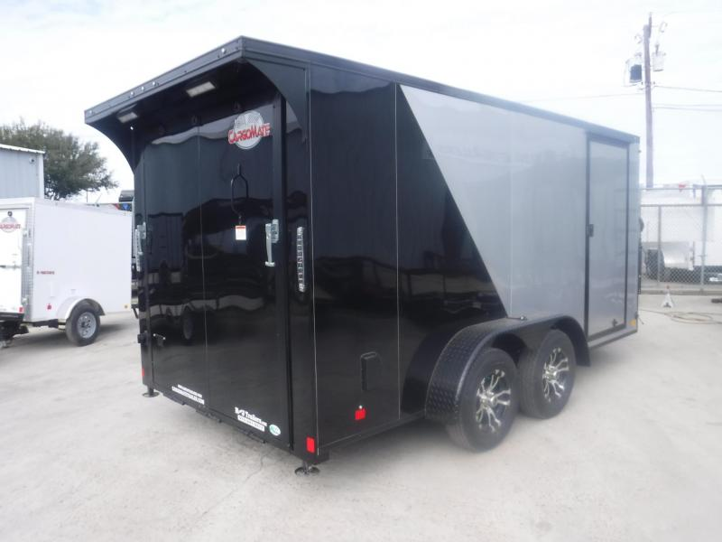 2019 Cargo Mate 7 x 14 Blazer Motorcycle Trailer