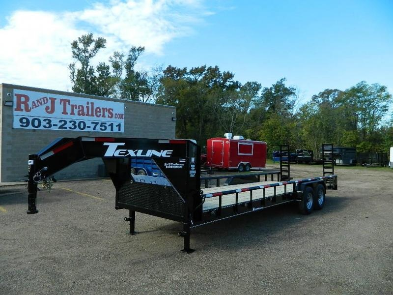 2018 TexLine 83 x 24 Bobcat Gooseneck Equipment Trailer in Willisville, AR