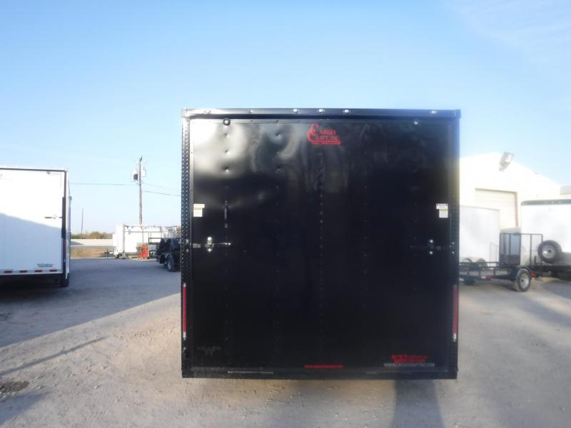 2019 Cargo Craft 8.5 x 16 Elite-V Enclosed Cargo Trailer