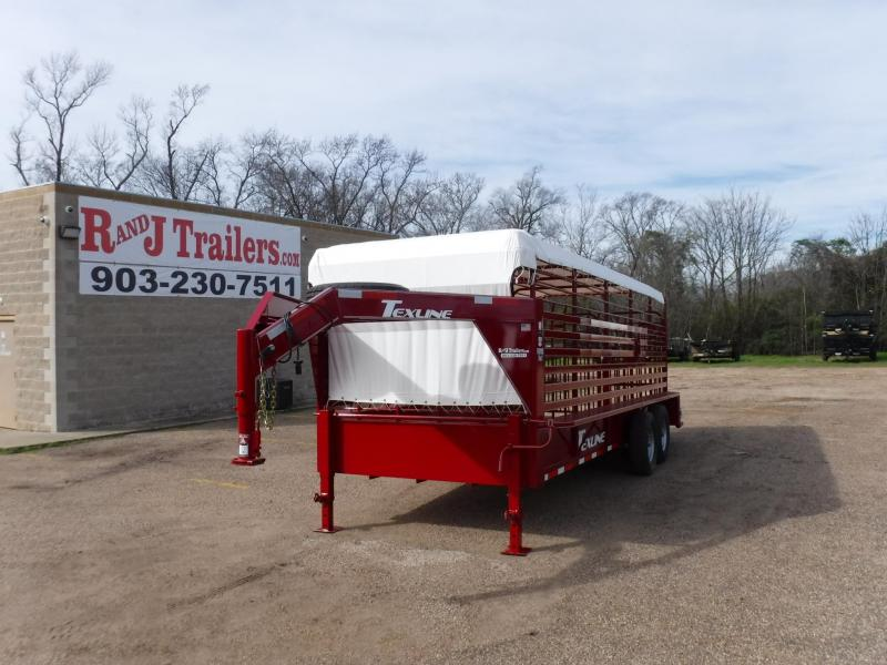 2019 TexLine 80x20 Cattle Utility Trailer
