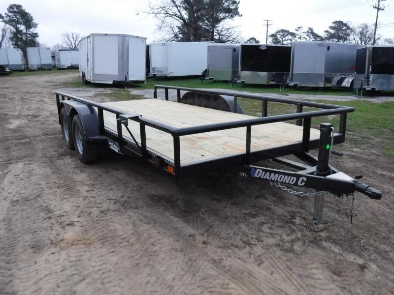 2019 Diamond C Trailers 83 x 16 GTU235 Utility Trailer in Ashburn, VA