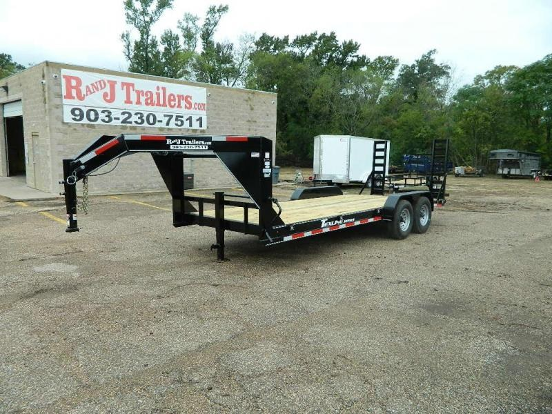 2018 TexLine 83 x 20 Bobcat Gooseneck Equipment Trailer