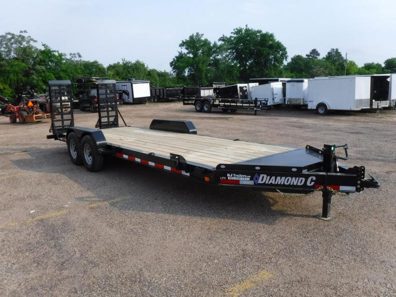 2019 Diamond C 82x22 LPX207 Equipment Trailer