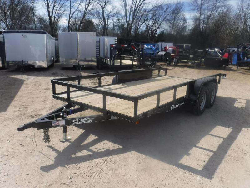 2019 TexLine 77 x 16 TA Patriot Utility Trailer