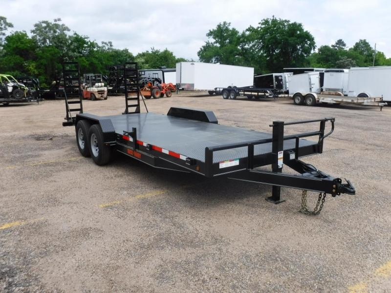 2019 Buck Dandy 82 x 20 Bobcat Equipment Trailer in Willisville, AR
