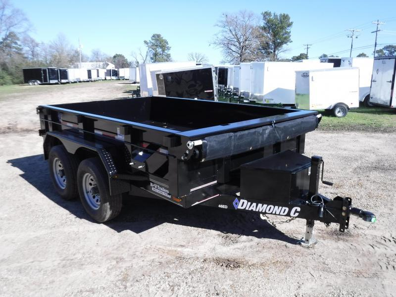 2019 Diamond C Trailers 77 x 10 46ED Dump Trailer in Ashburn, VA