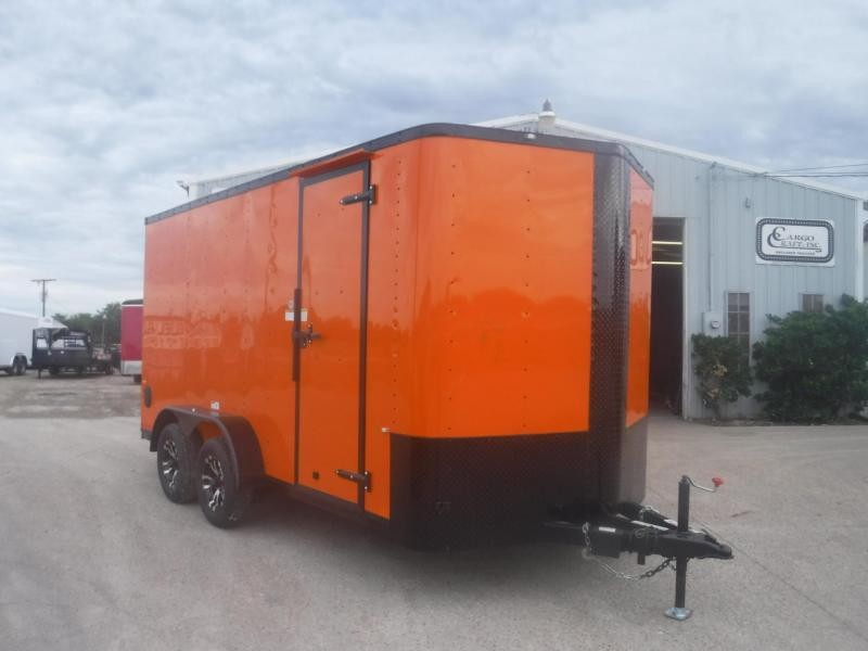 2018 Cargo Craft 7 x 14 Elite-V TA Enclosed Cargo Trailer