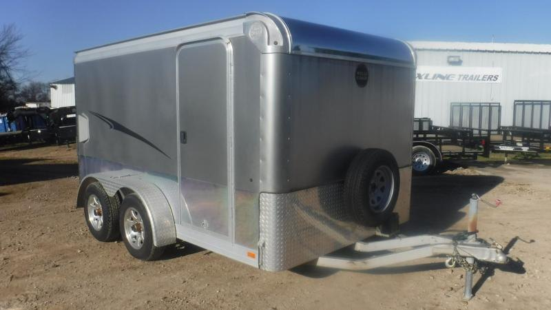 2012 Wells Cargo 7 x 12 Motorcycle Trailer