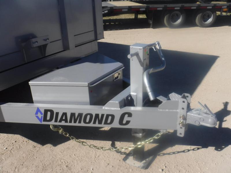 2019 Diamond C Trailers 82 x 14 21WD Dump Trailer