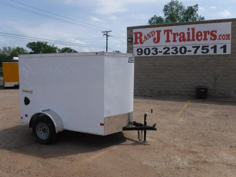 2019 Haulmark 5 x 8 Passport SA Enclosed Cargo Trailer