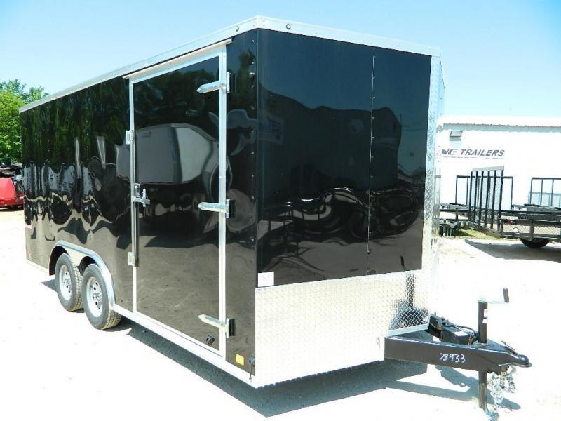 2019 Cargo Mate 8.5 x 16 TXLV TA Enclosed Cargo Trailer in Ashburn, VA