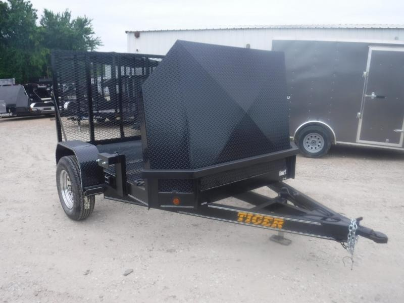 2019 Tiger 6 x 8 Motorcycle Trailer