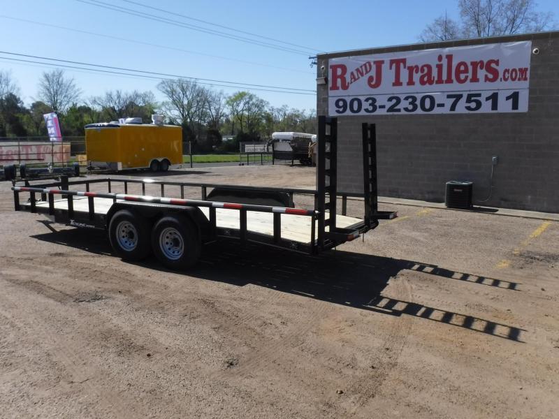 2019 TexLine 83 x 20 Bobcat Pipe Top Equipment Trailer