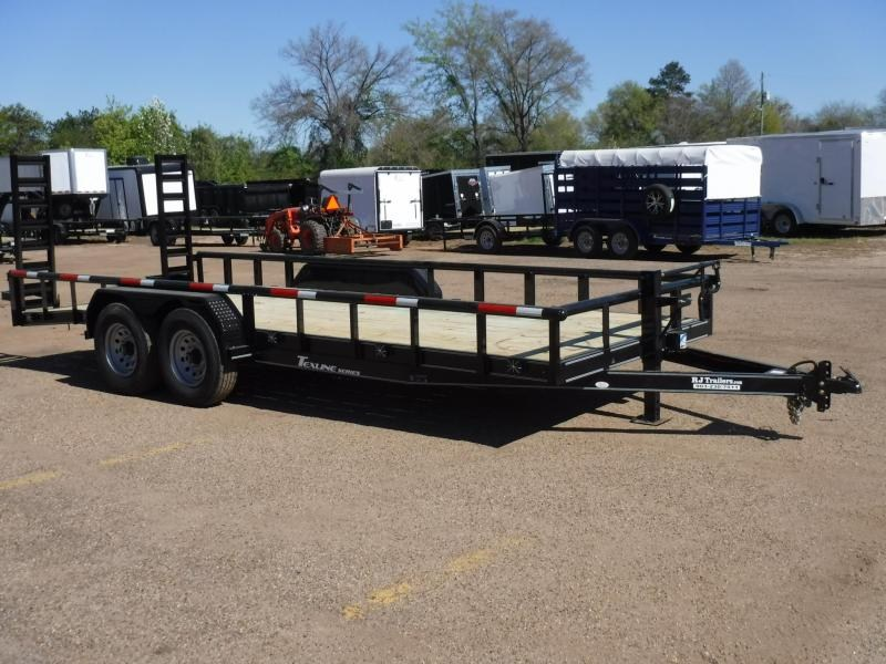 2019 TexLine 83 x 20 Bobcat Pipe Top Equipment Trailer in Dierks, AR