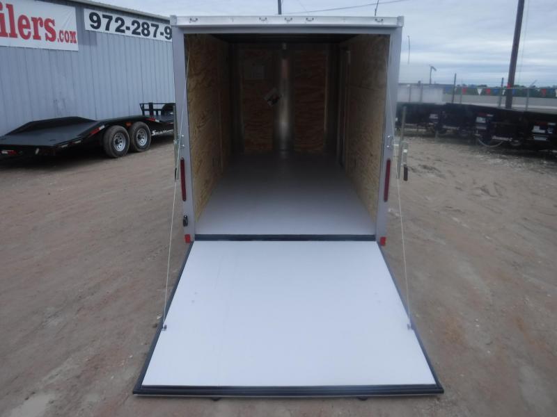 2018 Cargo Craft 6 x 12 Elite-V  Enclosed Cargo Trailer