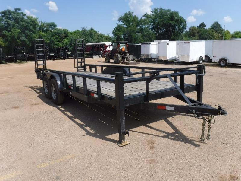 2016 Other 82 x 20 Bobcat Equipment Trailer