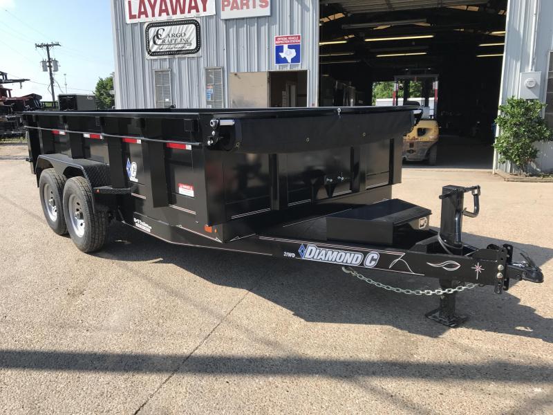 2018 Diamond C Trailers 82 x 14 21WD Dump Trailer