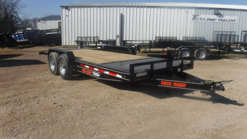 2019 Buck Dandy 83 x 20 Tilt Equipment Trailer